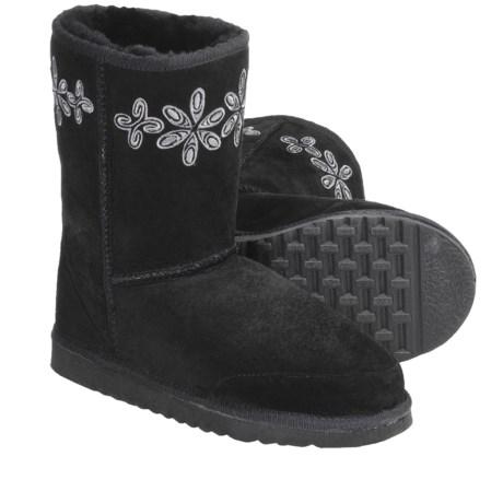 Aussie Dogs Groovester Sheepskin Boots - Short (For Women)