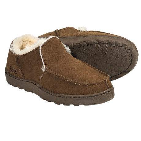 Aussie Dogs Base Shearling-Lined Shoes - Slip-Ons (For Men and Women)