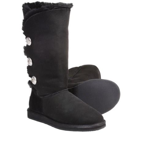 Aussie Dogs Gigi Sheepskin-Lined Boots (For Women)