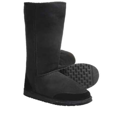 Aussie Dogs Styler Tall Shearling-Lined Boots (For Men and Women)