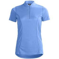 Canari Cross Sport II Cycling Jersey - Zip Neck, Short Sleeve (For Women)