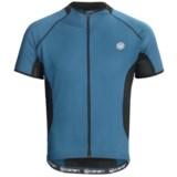 Canari Fusion Cycling Jersey - Full Zip, Short Sleeve (For Men)