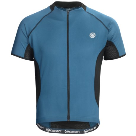 Canari Fusion Cycling Jersey - Full Zip, Short Sleeve (For Men)