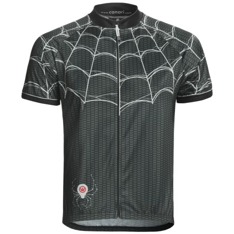 Canari Widow Cycling Jersey - Full Zip, Short Sleeve (For Men)