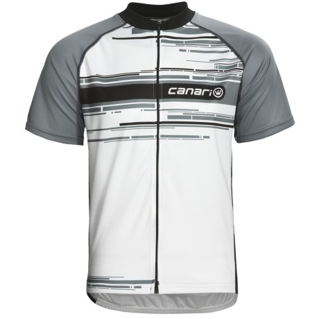 Canari Signature Cycling Jersey - Full Zip, Short Sleeve (For Men)