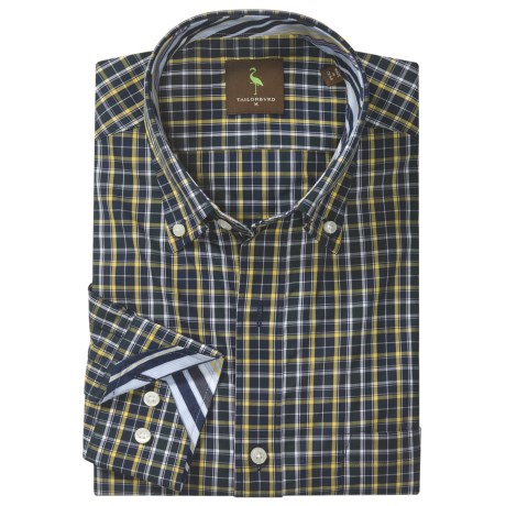 TailorByrd Tailorbyrd Donjay Check Shirt - Button Down, Long Sleeve (For Men)