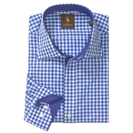 Tailorbyrd Donjay Gingham Shirt - Spread Collar, Long Sleeve (For Men)