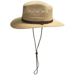 Resistol Airway Hat - UPF 50+, Panama Straw, Pinchfront (For Men)