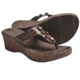 Cudas Taza Wedge Sandals (For Women)