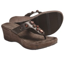 Cudas Taza Wedge Sandals (For Women)