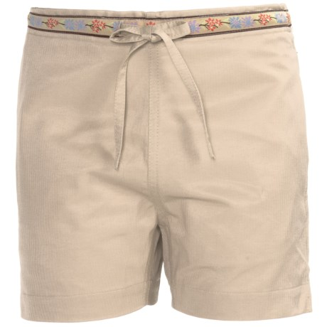 Donna Nicole Drawstring Waist Shorts (For Little Girls)