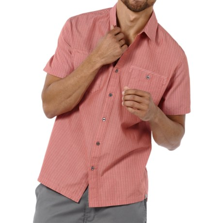 Toad&Co Horny Toad Wily Shirt - Button Up, Short Sleeve (For Men)