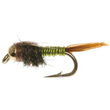 Superfly Bead Head Copper John Nymph Flies - Dozen