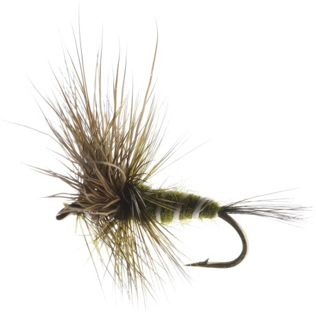 Superfly Green Drake Dry Fly - Dozen