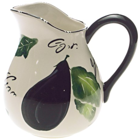Certified International Melanzana Pitcher - 3.5 Qt., Ceramic