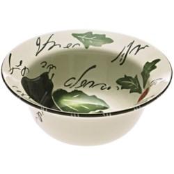 Certified International Melanzana Deep Serving Bowl - Ceramic