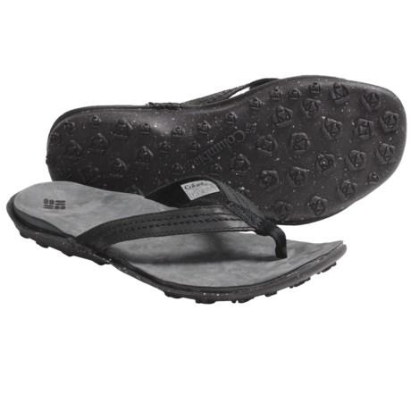 Columbia Sportswear Orla Flip Sandals - Leather (For Women)