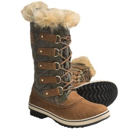 Sorel Tofino CVS Laredo Pac Boots - Waterproof, Waxed Canvas (For Women)