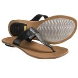Sorel Lake Slide Sandals - Leather (For Women)