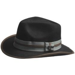 Peter Grimm OG Fedora Hat - Felted Wool (For Men)