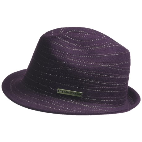 Peter Grimm Static Fedora Hat - Felted Wool (For Women)