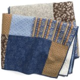 C & F Enterprises Azure Patchwork Quilt - King