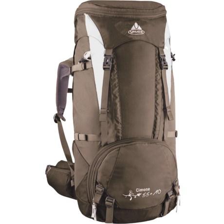 Vaude Cimone 55+10 Backpack - Internal Frame (For Women)