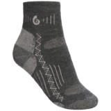 Point6 Hiking Tech Socks -Merino Wool, Midweight, Quarter-Crew (For Women)