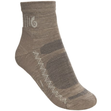 Point6 Active Light Mini Socks - Merino Wool, Lightweight, Quarter-Crew (For Women)