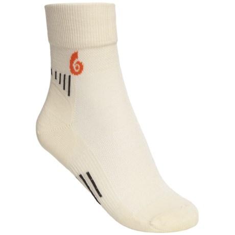 Point6 Cycling Ultralight Socks - Merino Wool, 3/4 Crew (For Women)