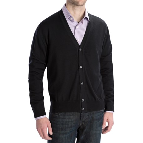 Toscano Merino Wool Cardigan Sweater - Zegna Barrufa (For Men)