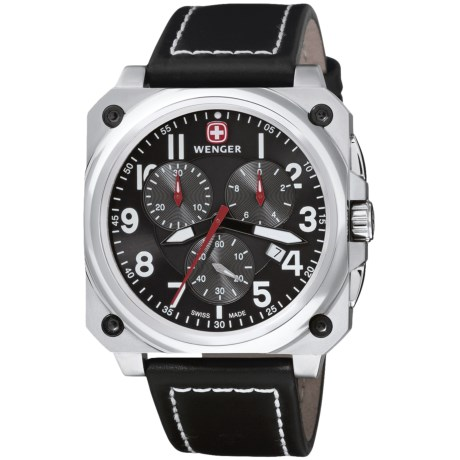 Wenger Aerograph Cockpit Chronograph Watch