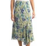 Indira Faux Wrap Rayon Skirt (For Women)