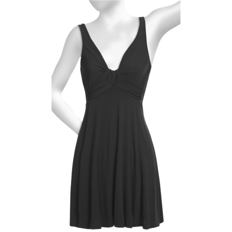 Carole Hochman Midnight by  Lace Back Nightgown - Sleeveless (For Women)