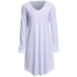 Carole Hochman Easy Going Nightshirt - Long Sleeve (For Women)