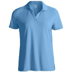 Specially made Outer Banks Cool-DRI® Textured Performance Polo Shirt - Short Sleeve (For Women)