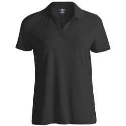 Outer Banks Cool-DRI® Textured Performance Polo Shirt - Short Sleeve (For Women)