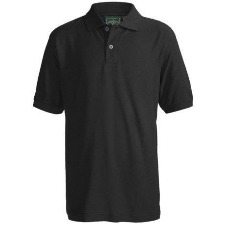 Outer Banks Essential Blended Pique Polo Shirt - Short Sleeve (For Youth)