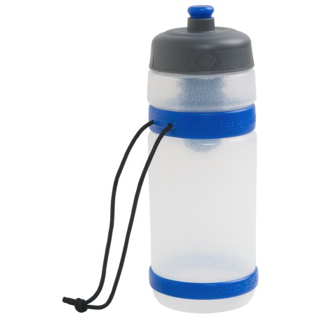 Outdoor Products Filtration Water Bottle - Extra Filter, BPA-Free, 18 fl.oz.