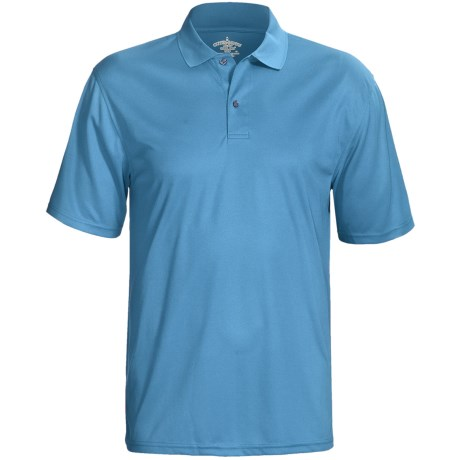 Outer Banks Cool-DRI® Textured Performance Polo Shirt - Short Sleeve (For Men)