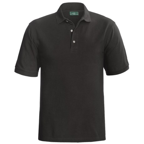 Specially made Outer Banks Ultimate Cotton Polo Shirt - Short Sleeve (For Tall Men)