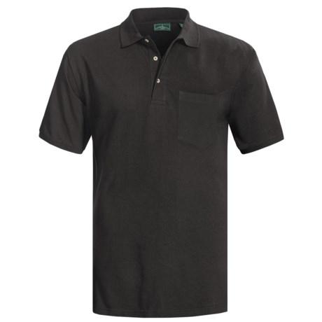 Outer Banks Ultimate Cotton Polo Shirt - Pocket, Short Sleeve (For Men)