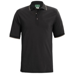 Outer Banks Active Pinpoint Pique Polo Shirt - Short Sleeve (For Men)