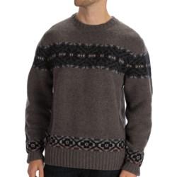 Boston Traders Snowflake Sweater - Wool Blend (For Men)