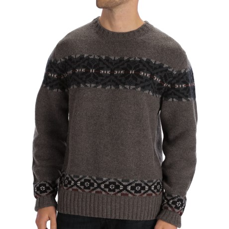 Boston Traders Snowflake Sweater - Wool Blend (For Men)