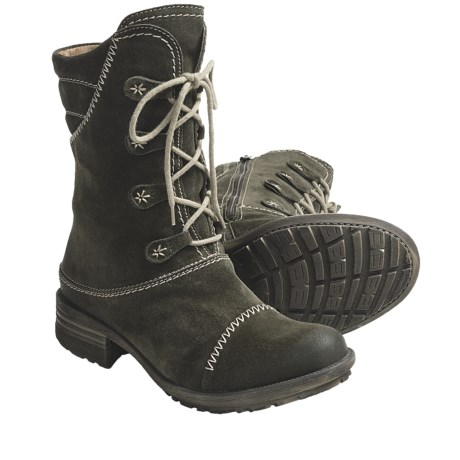 Josef Seibel Palmira Boots - Side Zip (For Women)