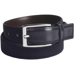 Di Stefano Polished Leather Dress Belt (For Men)