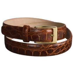 Tardini Polished American Alligator Belt  (For Men)