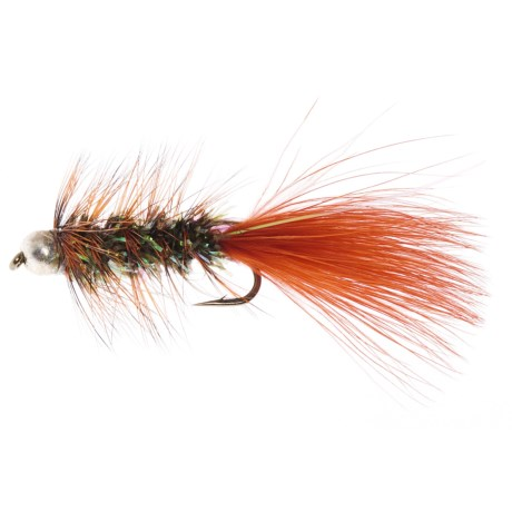 Dream Cast Bead Head Cascade Bugger Streamer Fly - Dozen
