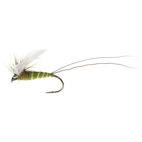 Dream Cast Green Drake Rib Dry Fly - Dozen
